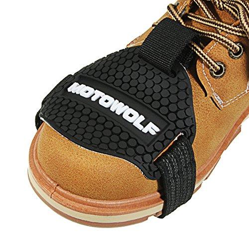 C-FUNN Moto Gear Shifter Zapato Botas Protector Shift Calcetines Cubierta De Goma