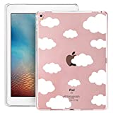 iPad Pro Case, iPad Pro Soft Clear Case, Doramifer Childhood Series Protective Case [Anti-Slip] [Good Grip] [Ultra Thin] with Aesthetic 3D Print Soft Back Cover for 9.7-inch iPad Pro (Cats Party)