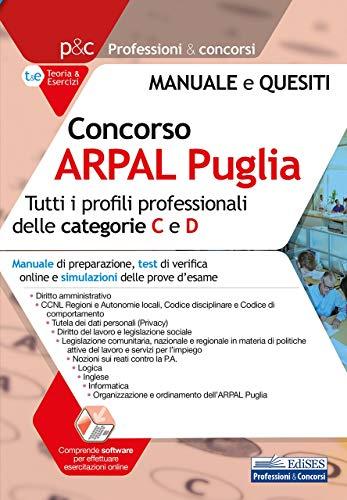 Concorso ARPAL Puglia. Teoria e test