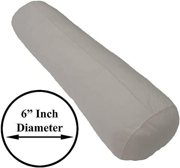 Pillowflex 6 Inch By 28 Inch Bolster Insert Pillow Forms