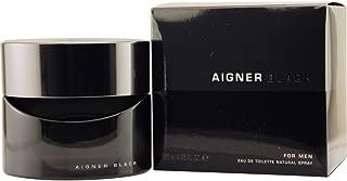 Aigner Black By Etienne Aigner For Men. Eau De Toilette Spray 4.2 Oz