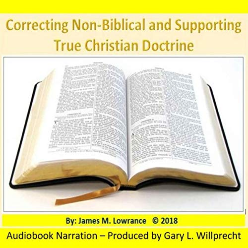 Correcting Non-Biblical and Supporting True Christian Doctrines cover art