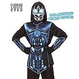 WIDMANN–Costume per bambini Cyber Ninja