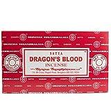 Varillas de incienso Satya Nag Champa, muchos aromas, 12 unidades de 15g, DRAGON'S BLOOD