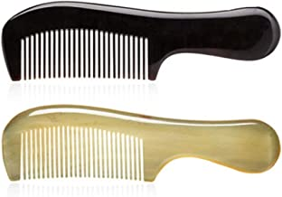 Comb, A Comb Made By Hand-polished With Horn Material Of Cattle, Is A Very Healthy Material And Can Be Presented As A Gift (available In Nine Combinations) (Style : Style9)