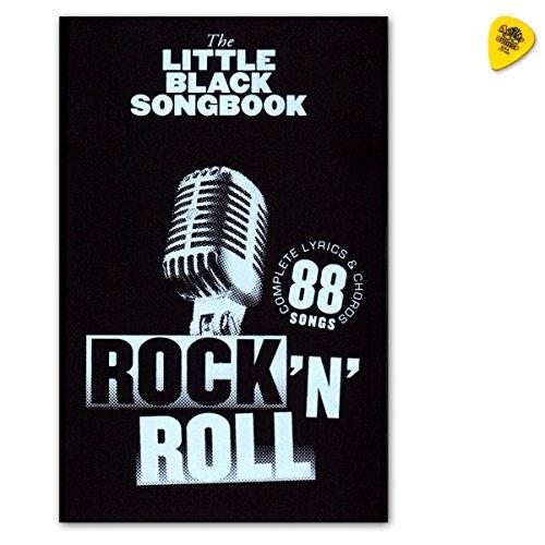 The Little Black Songbook: Rock 'n' Roll - liedboek voor gitaar met teksten en akkoorden met Dunlop Plek