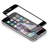 iPhone 6/ 6s Pellicole Protettive, Coolreall [3D Full Coverage] Vetro Temperato Screen Protector per Apple iPhone 6/ 6s (4,7 Pollici)- [9H Durezza, 3D Touch Compatible]- Nero