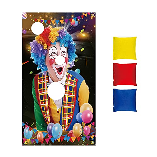 Halloween Bean Bag Toss Games Throwing Game Game Flags Easy To Hang for Kids Party Favors for Outdoor Indoor Activities and Games Home