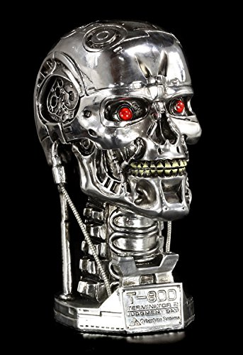 Terminator T-800 Schädel Box - Deko Figur