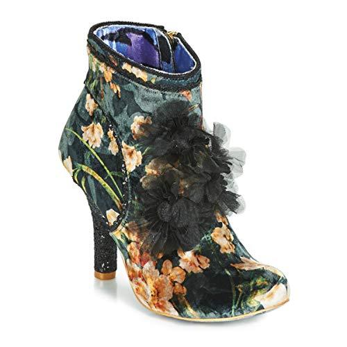 Irregular Choice Queen Velvet Stiefelletten/Boots Femmes Schwarz - 43 - Low Boots