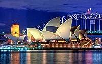 パズル500ピース大人のジグソーパズル大きな古典的な木製のジグソーパズルおもちゃ減圧オーストラリアのオペラ