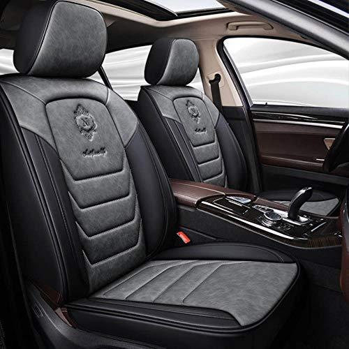 Fundas De Asiento De Coche Universales para BMW E30 E34 E36 E39 E46 E60 E90 F10 F30 X3 X5 X6 Accesorios De Coche Estilo Automático-Gris