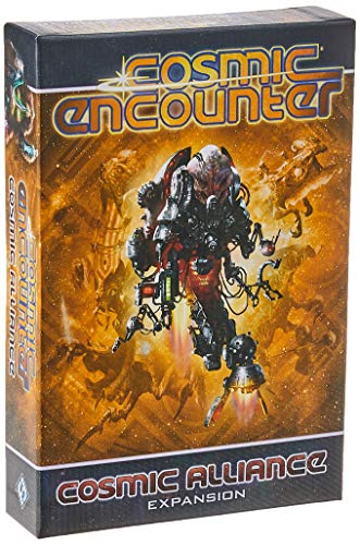 Cosmic Alliance Board Game EXPANSION   Strategy Game   Sci-Fi Exploration Game for Adults and Teens   Ages 14+   3-5 Players   Average Playtime 1-2 Hours   Made by Fantasy Flight Games