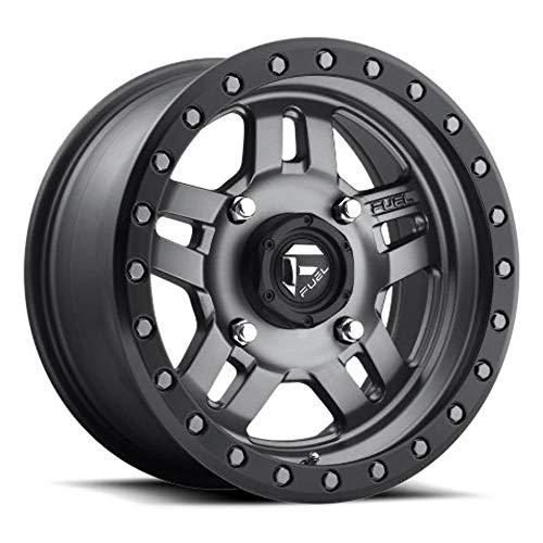 Fuel D558 ANZA ATV/UTV 15x7 4x156 +38mm Gunmetal Wheel Rim