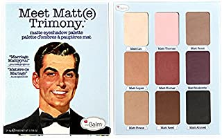 theBalm Meet Matte Trimony Eyeshadow Palette Multi Color, 0.756 oz, Pack of 1