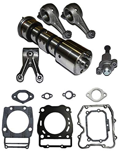 POLARIS SPORTSMAN 500 2X4 4X4 CAM SHAFT CAMSHAFT ROCKER ARM ARMS GASKET 1995 1996 1997 1998 1999 2000 2001 2002 2003 2004 2005 2006 2007 2008 2009 2010 2011 2012