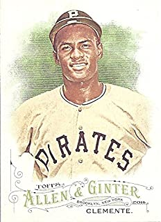 Roberto Clemente Short Print Baseball Card - 2016 Topps Allen & Ginter Baseball Card #320 (Pittsburgh Pirates) Free Shipping & Tracking