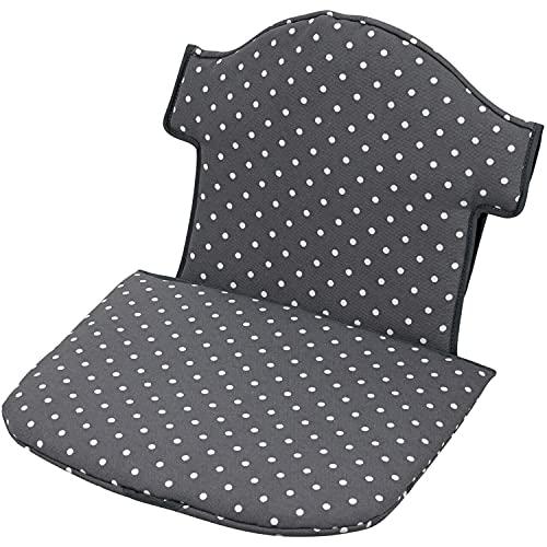 Geuther -Sitzverkleinerer 4743 für Hochstuhl Swing, aus Stoff, Punkte grau