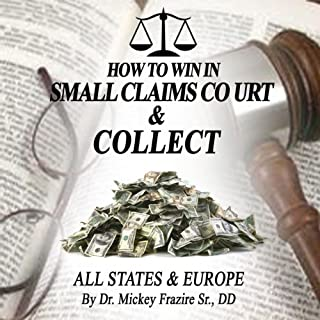 How to Win in Small Claims Court and Collect audiobook cover art