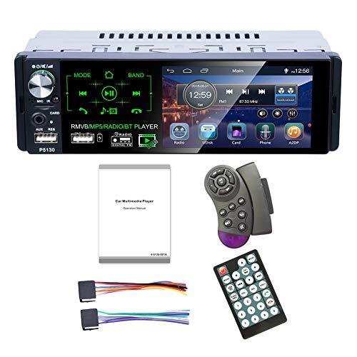ACAMPTAR, P5130, touchscreen, auto, MP3-speler, subwoofer ondersteuning, microfoon en camera, auto-ontvanger, Rmvb/radio/Bt speler op de FM-radio