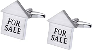 Men's for Sale Sold Realtor Cufflinks with Gift Box