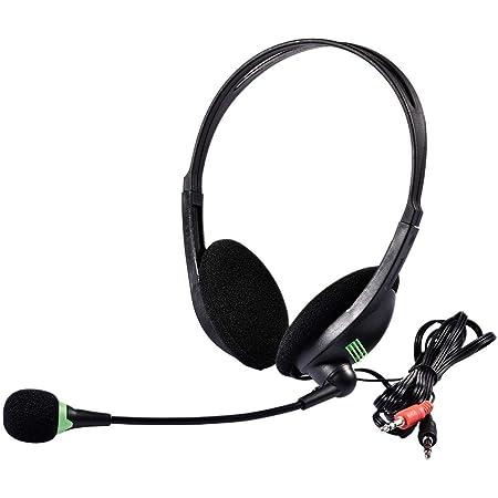Pc 5 2 Kabelgebundenes Headset Für Entspanntes Gaming E Learning Und Musik Noise Cancelling Mikrofon Call Control Hoher Komfort Mikrofon Klappbar 3 5 Mm Klinkenstecker Küche Haushalt