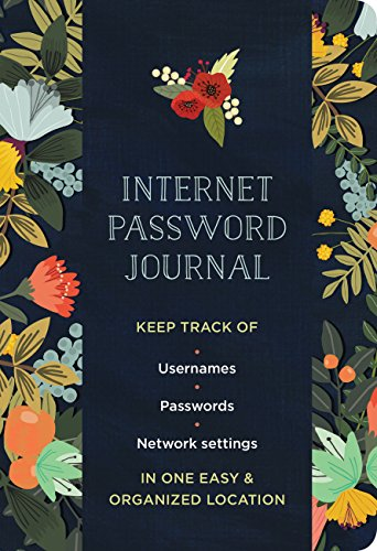 Internet Password Journal - Modern Floral (Logbooks)