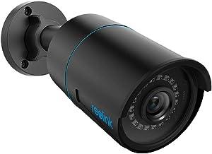 Reolink 5MP Smart PoE beveiligingscamera voor buiten met detectie van mensen/voertuig, IP66 weerbestendige bullet CCTV IP-...