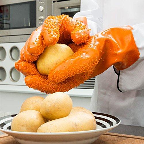 Handschoenen gemakkelijk schil aardappel aardappelen