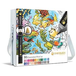 Color Tones 30 Pens & Case: Amazon.es: Hogar