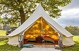 Tente Bell en bâche de 5 mètres avec fermeture éclair par Bell Tent Boutique