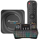 GEQWE Android 11.0 TV Box [8 + 128], X88 Pro 20 RK3566 CPU Cortex-A55 De Cuatro Núcleos Y 64 bits 2.4Ghz / 5Ghz WiFi De Banda Dual 8K / 4K Resolución Ultra HD Bluetooth 4.0 Ethernet 1000M,8gb+128gb