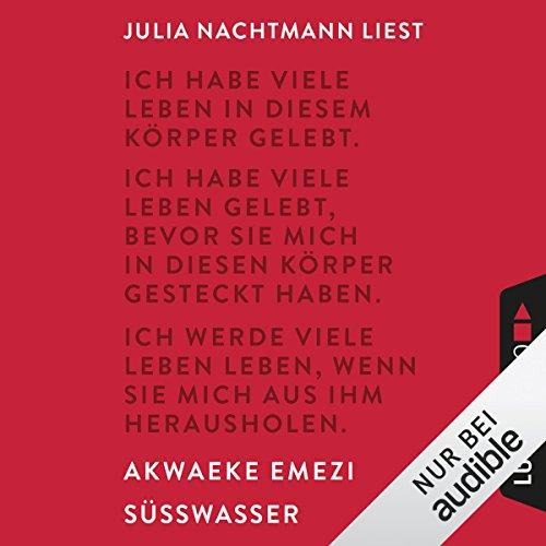 Süßwasser audiobook cover art