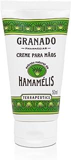 Creme para Mãos Terrapeutics Hamamélis, Granado, Verde Escuro, 50ml