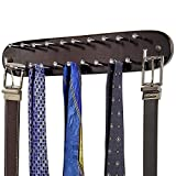 Best Tie Racks - Richards Homewares 21 Closet Tie Rack, Belt Scarf Review