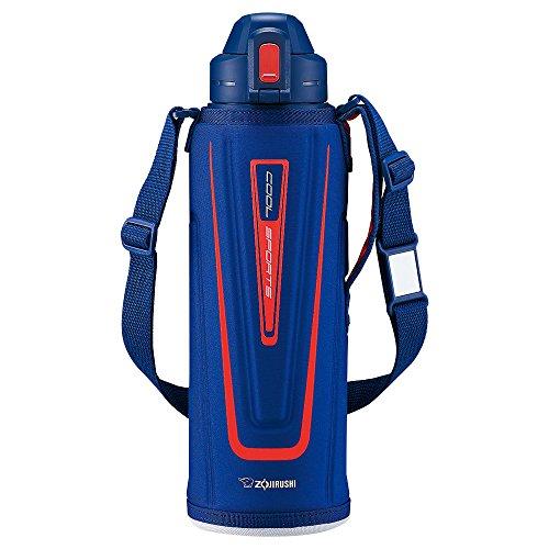 象印 ( ZOJIRUSHI ) 水筒 直飲み スポーツタイプ ステンレスクールボトル 1.55L オレンジネイビー SD-EC15-AD