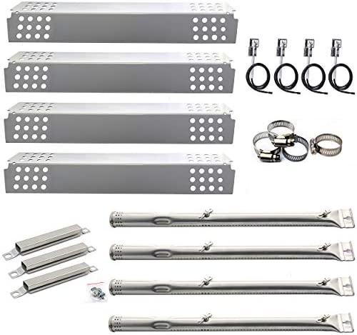Hisencn BBQ Repair Kit Pipe Burner Tube Heat Plate Tent Shield Carry Over Crossover Tube Igniter product image
