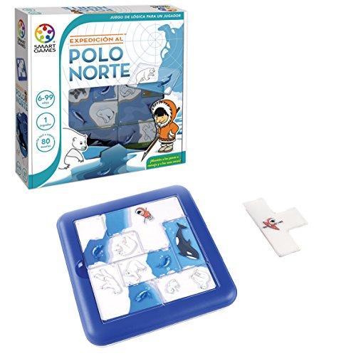 Smart Games - Expedición al Polo Norte: Amazon.es: Juguetes y juegos