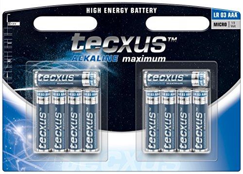 Micro (LR03 / AAA) Batterien Alkaline 1,5 V mit langer Lebensdauer, 10er Pack