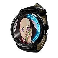 デーモンブレードLED ウォッチコスプレアニメファッションカジュアルレザーウォッチ人気のベルト耐久性ウォッチウ 3D 防水ユニセックスギフトウォッチ-A6