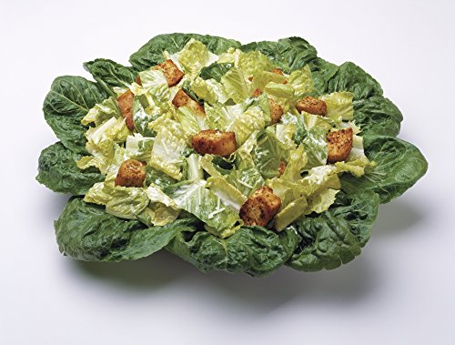 Posterazzi Food-Caesar salad prepared with Romaine lettuce dressing parmesan cheese and croutons studio. Poster Print, (16 x 12)