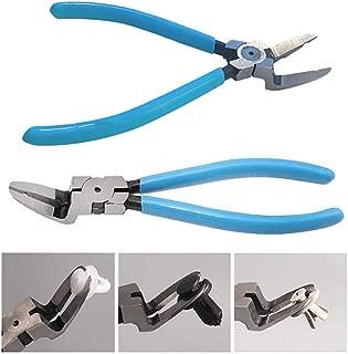 Juesi Mutipurpose Diagonal Cutting Pliers Seal Puller Car Push Retainer Rivet Trim Clip Pry Puller Clips Panel Assortments Puller Tool (Blue)