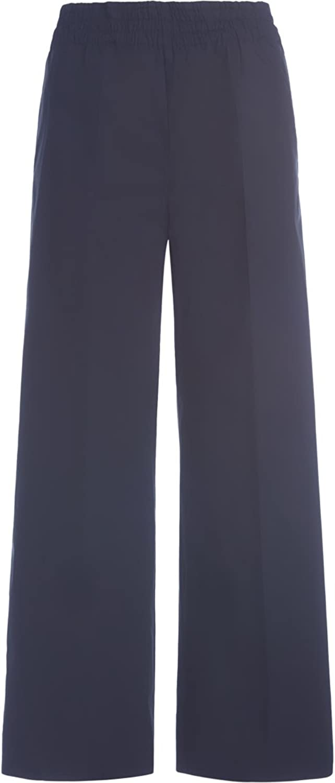Jucca Woman's Black Palazzo Trousers