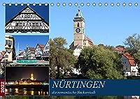 Nuertingen, die romantische Neckarstadt (Tischkalender 2022 DIN A5 quer): Erleben Sie einen visuellen Stadtbummel! (Monatskalender, 14 Seiten )