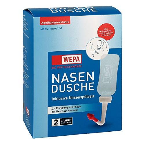 Wepa Nasendusche mit 10 Beuteln Nasensp�lsalz, 1 P