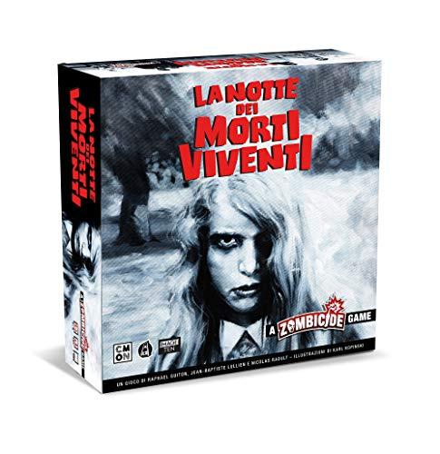 Asmodee - Zombicide: La Notte dei Morti Viventi, Gioco da Tavolo, Edizione in Italiano, 8448