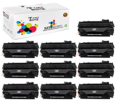 1 PACK/2 PACK/4 PACK/10 PACK TonerDepot NEW Compatible with HP CF280A Toner Cartridge Multi-Fit Black Ink Box for HP and Canon Printer series