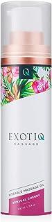 Exotiq Kissable massageolie, sensuele kersen, 100 ml, ideaal voor een liefdevolle massage, een fantastische geur van fruit...
