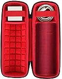 co2CREA Duro Viaggio Caso Copertina per Ultimate Ears Boom 3 Altoparlante Wireless Bluetooth Portatile(solo scatola)(rosso)