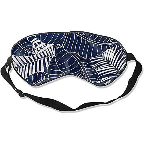 Sleep Eye Masker, donkergroen laat super gladde slaapoogmaskers voor thuiskantoor of hotel